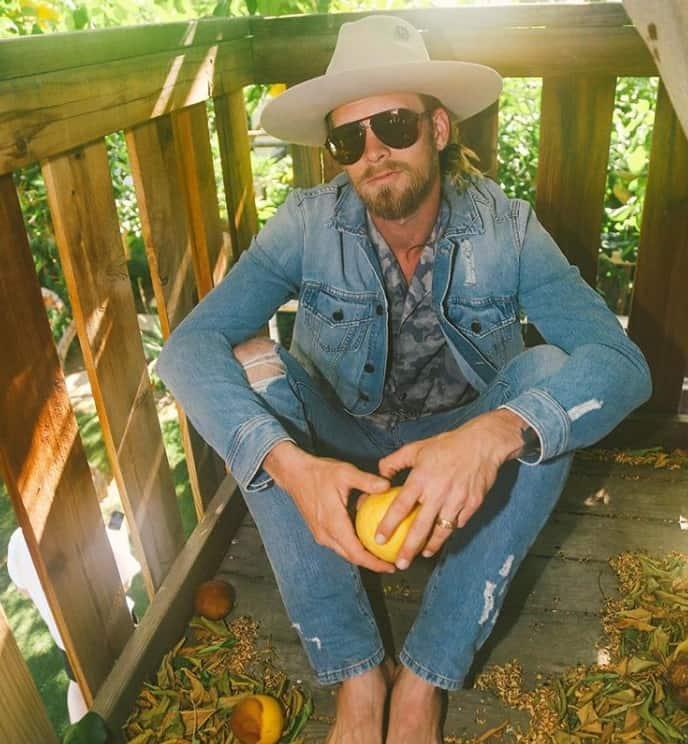 Brian Kelley in Tribe Kelley; Photo via Instagram