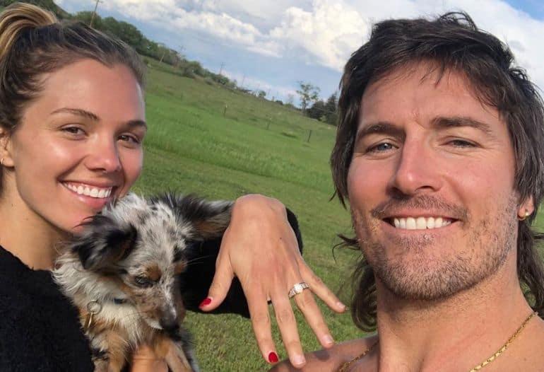 Midland's Mark Wystrach Engaged to Ty Haney; Photo via Instagram