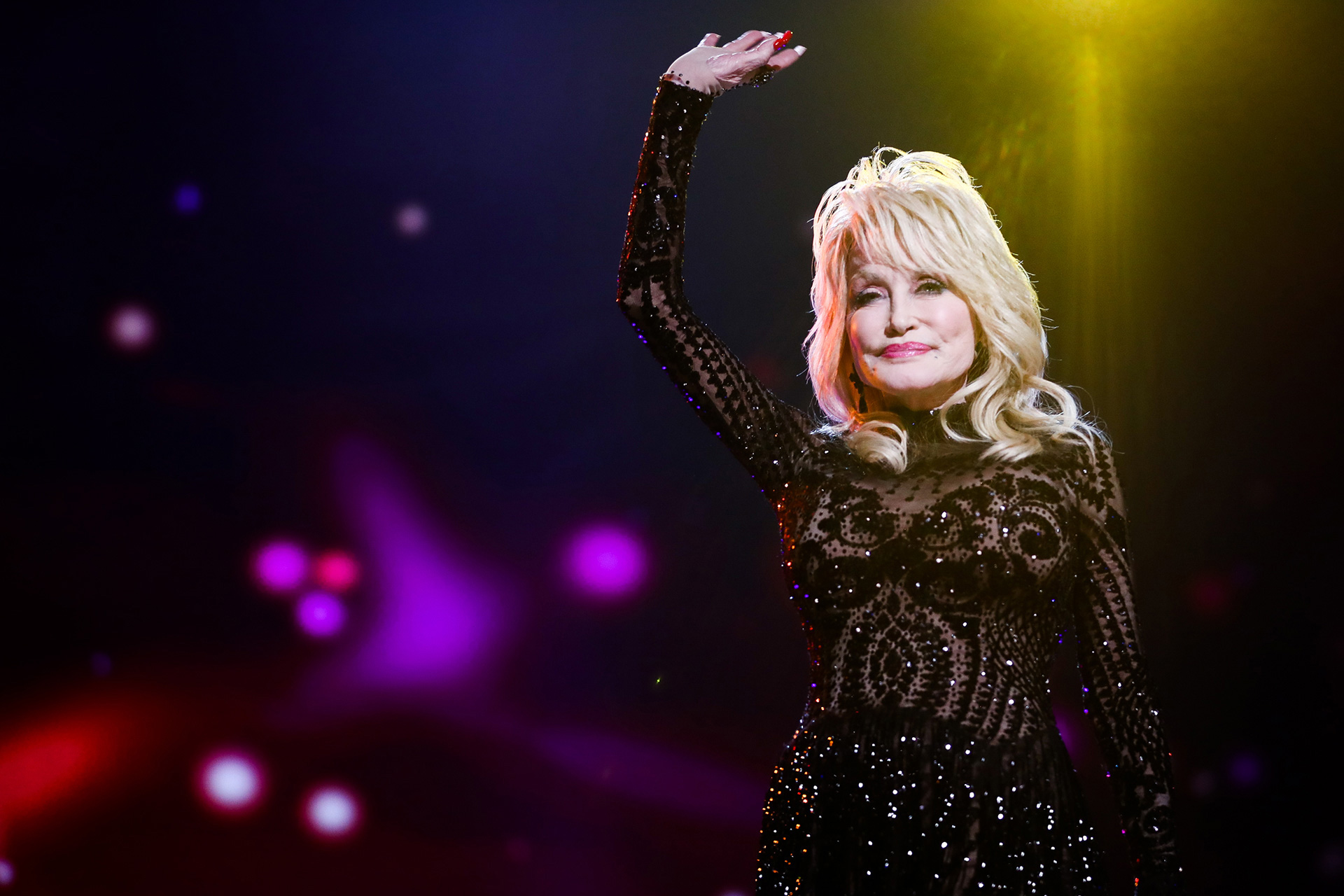 Dolly Parton; Photo by Rich Fury/Getty Images for The Recording Academy