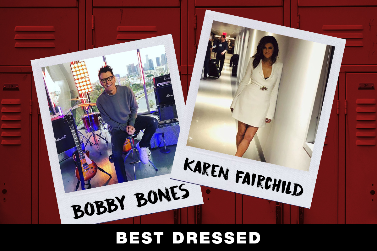 Bobby Bones, Karen Fairchild; Country Now Superlatives