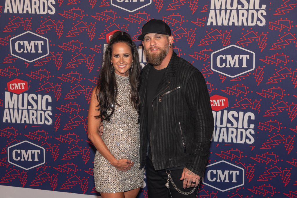 Brantley Gilbert and Wife Amber; Photo by Andrew Wendowski