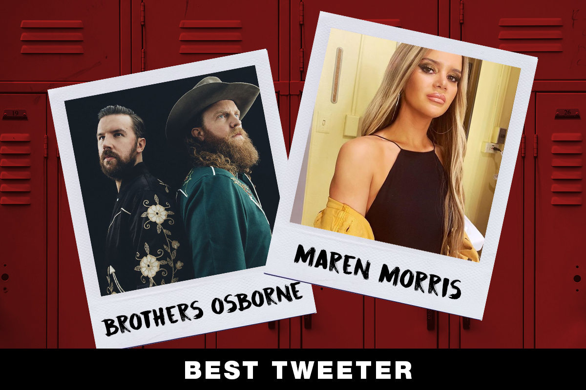 Brothers Osborne, Maren Morris; Country Now Superlatives