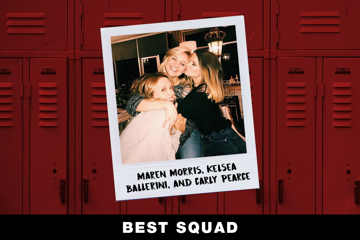 Maren Morris, Kelsea Ballerini, Carly Pearce; Country Now Superlatives