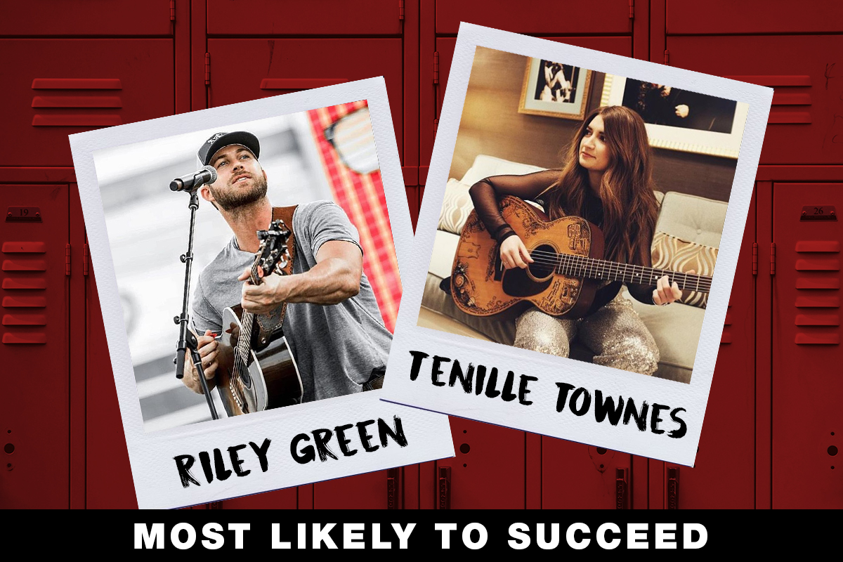 Riley Green, Tenille Townes; Country Now Superlatives