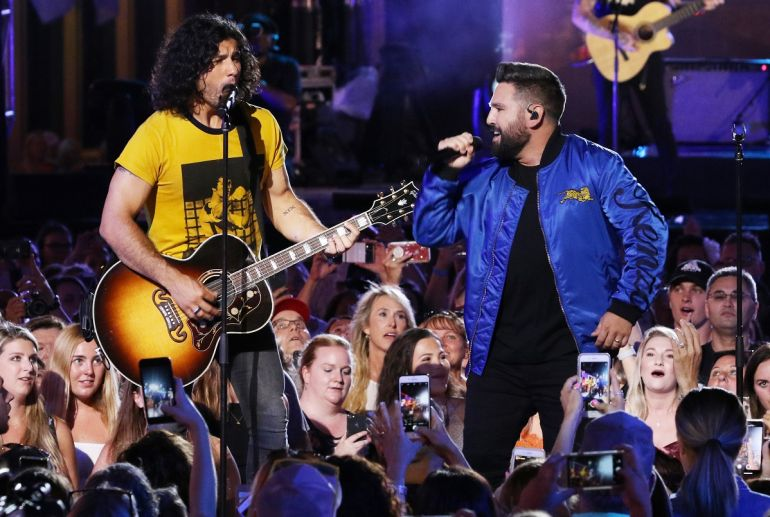 Dan + Shay; Photo by Anna Webber/Getty Images for CMT