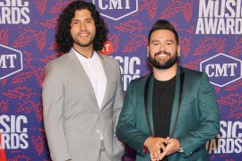 Dan + Shay; Photo by Mike Coppola/Getty Images for CMT