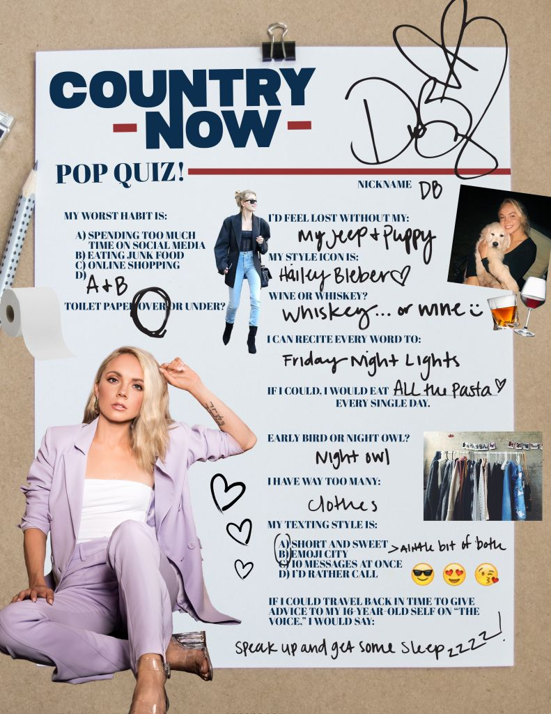 Danielle Bradbury; Country Now Pop Quiz