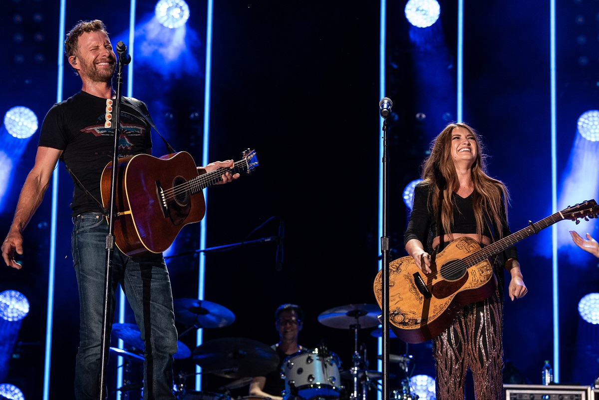 Dierks Bentley and Tenille Townes; Photo by Andrew Wendowski 2
