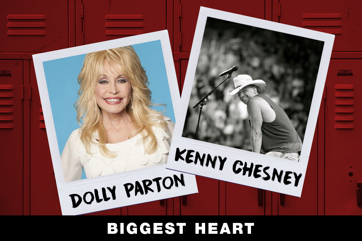 Dolly Parton, Kenny Chesney; Country Now Superlatives