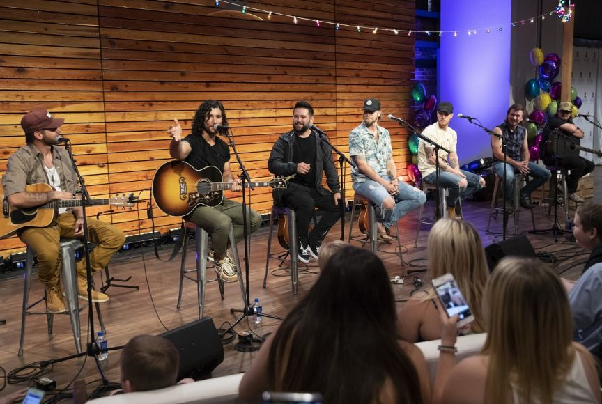 •Canaan Smith, Dan + Shay, Florida Georgia Line, Morgan Wallen, and HARDY perform for the patient families
