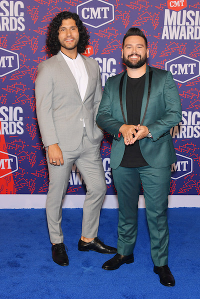 Dan + Shay; Photo by Mike Coppola/Getty Images for CMT)