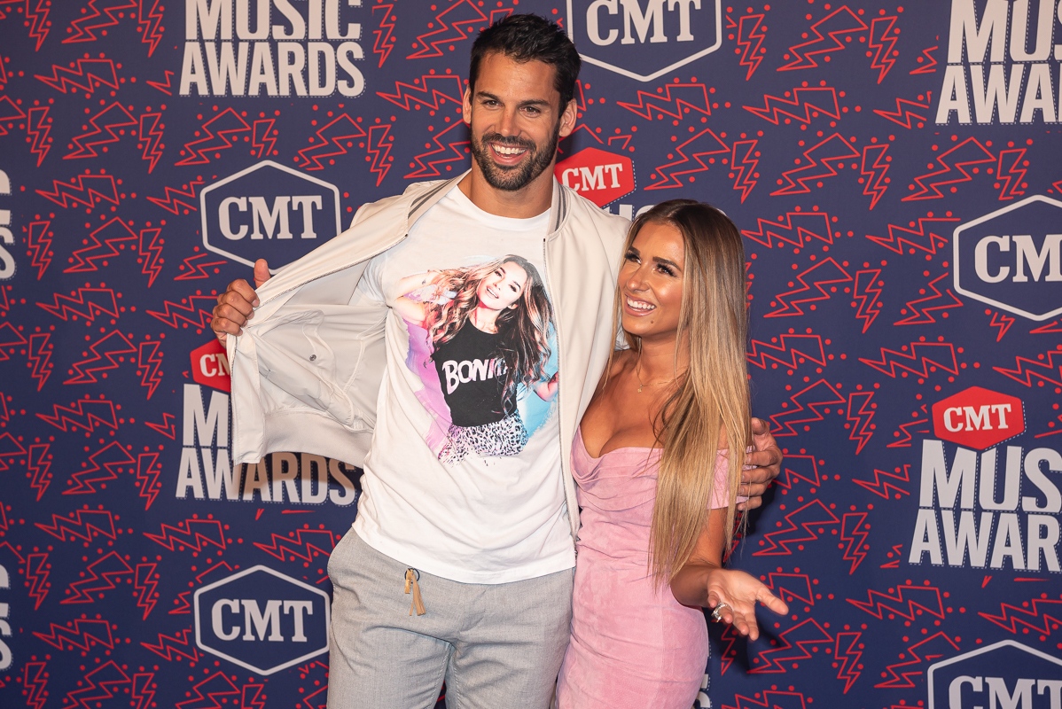 Jessie James Decker and Eric Decker; Photo by Andrew Wendowski