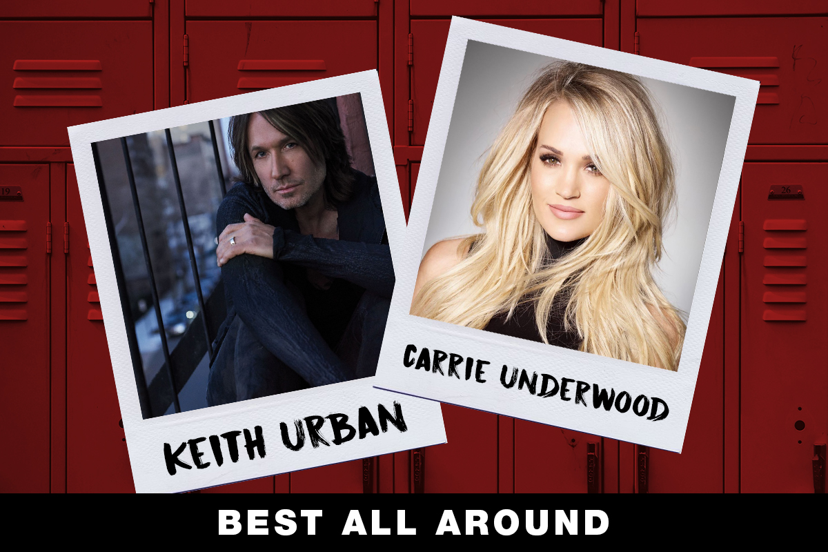 Keith Urban, Carrie Underwood; Country Now Superlatives