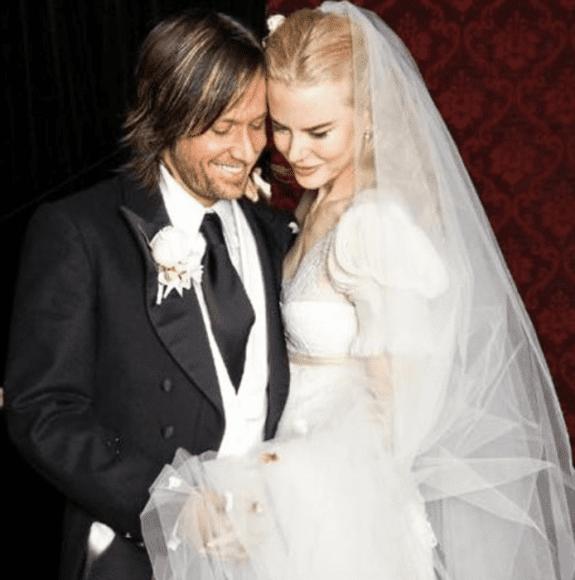 Keith Urban and Nicole Kidman; Photo via Instagram