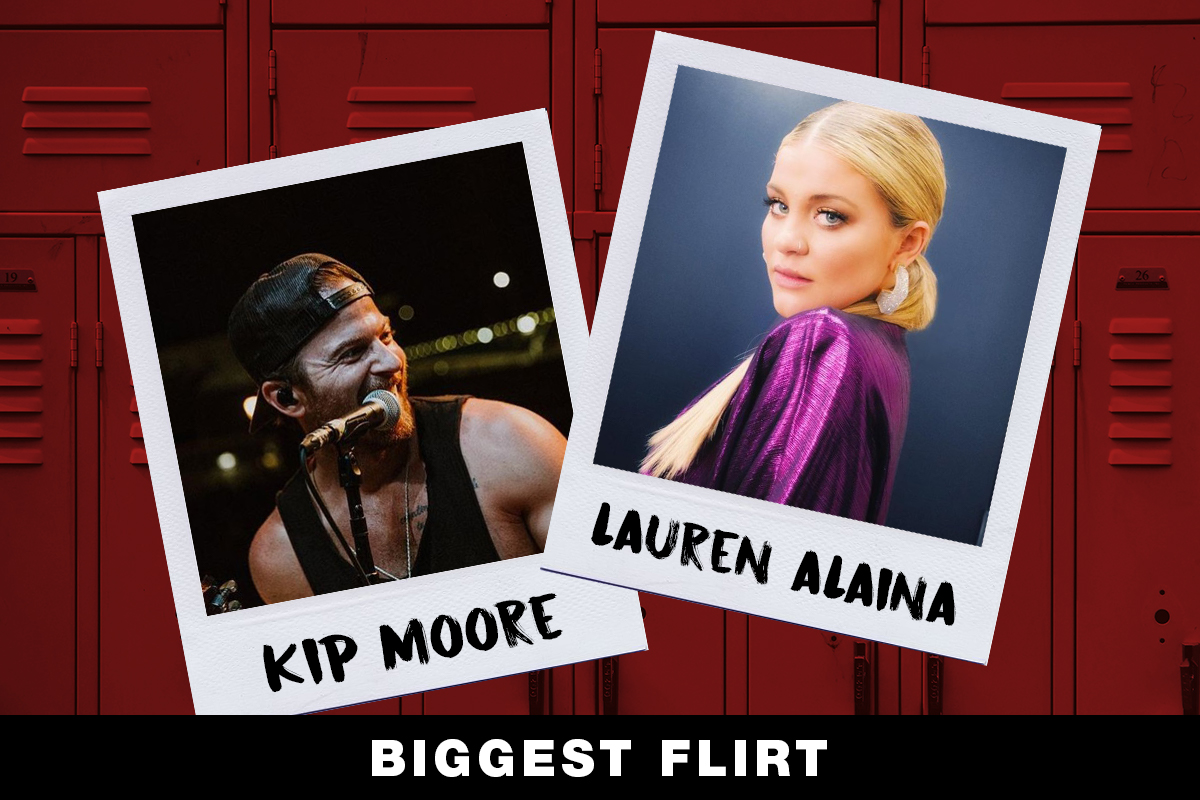 Kip Moore, Lauren Alaina; Country Now Superlatives