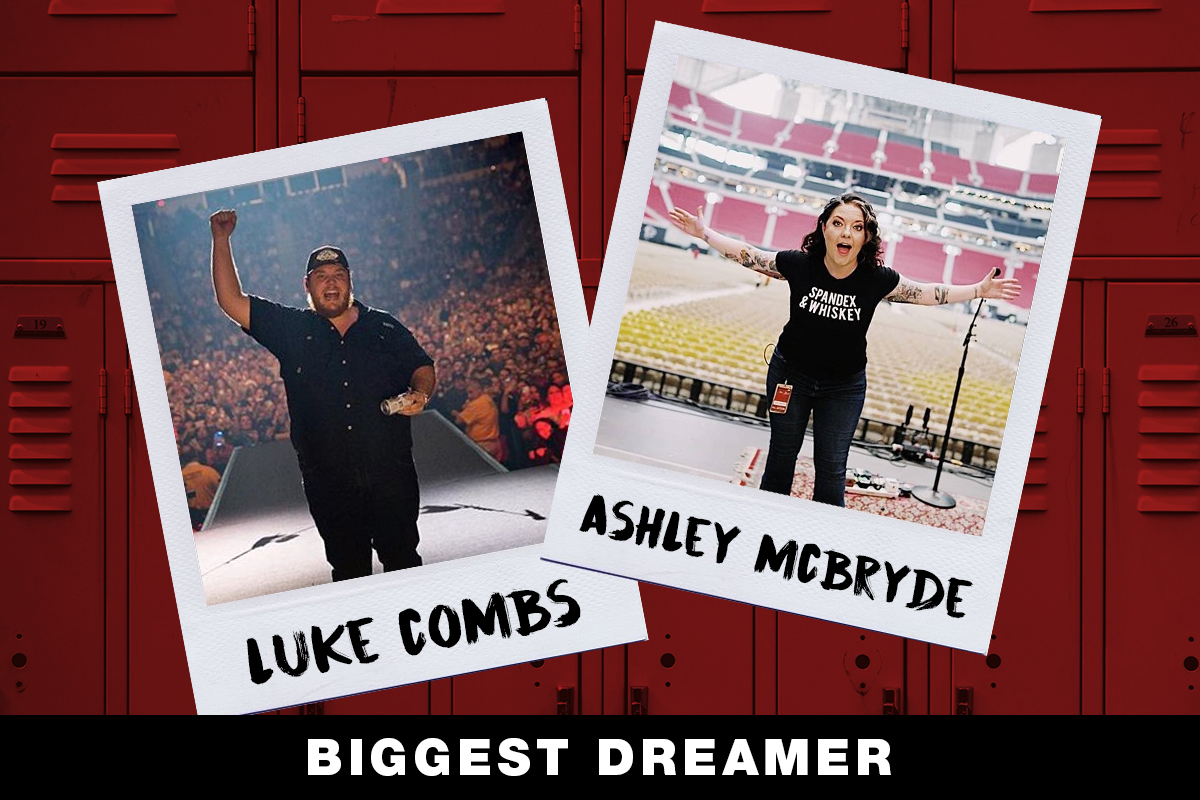 Luke Combs, Ashley McBryde; Country Now Superlatives