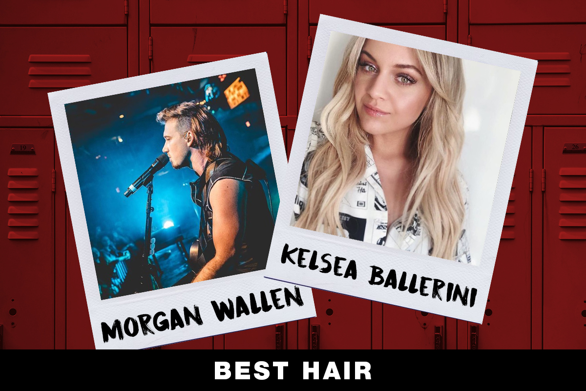 Morgan Wallen, Kelsea Ballerini; Country Now Superlatives