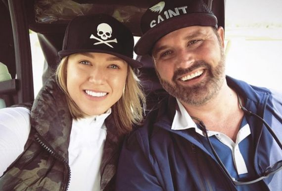 Randy Houser and Wife; Photo via Instagram