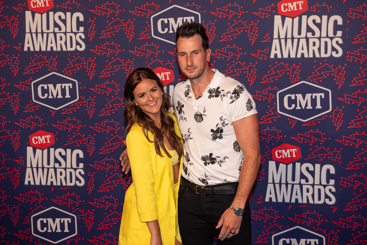 Russell Dickerson and Wife Kailey; Photo by Andrew Wendowski