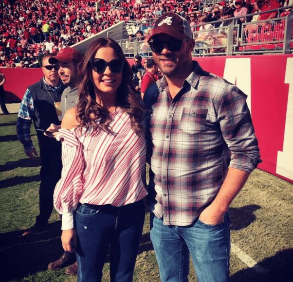 Sara Evans and Jay Barker; Photo via Instagram
