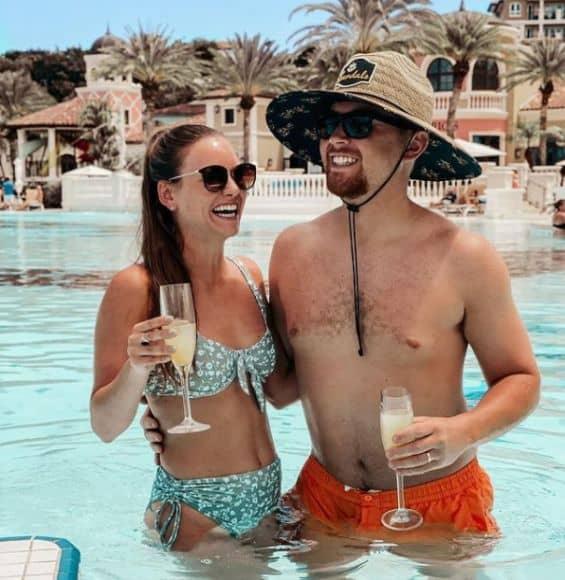 Scotty McCreery and Wife, Gabi 12