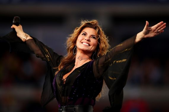 Shania Twain; Photo by Clive Brunskill/Getty Images
