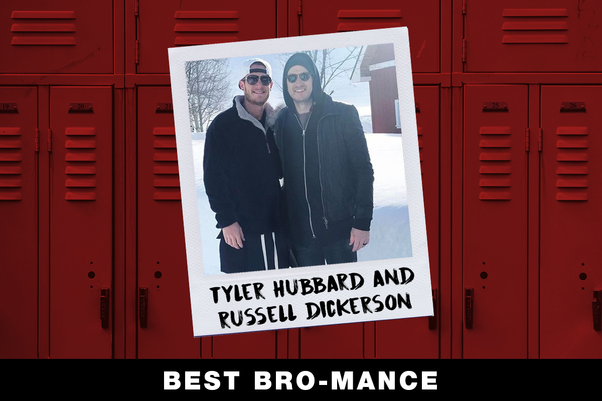 Tyler Hubbard, Russell Dickerson; Country Now Superlatives