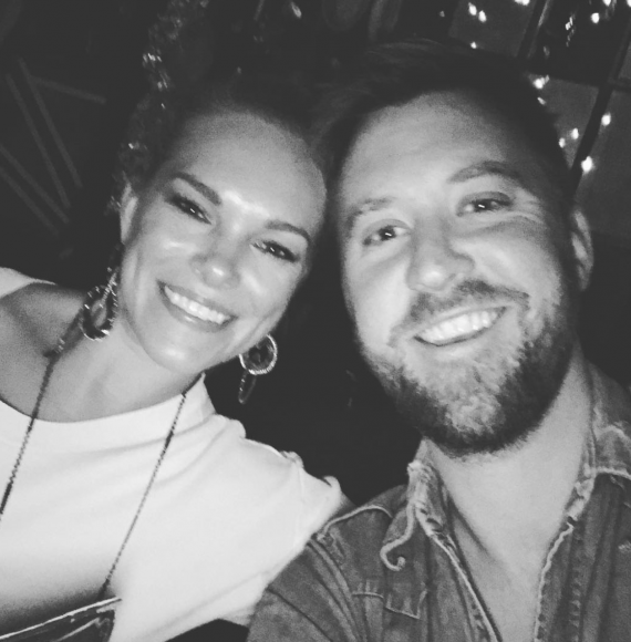 Charles Kelley and Wife, Cassie; Photo via Instagram