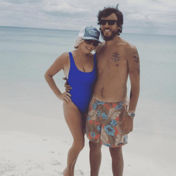 Chris Janson and Wife, Kelly; Photo via Instagram