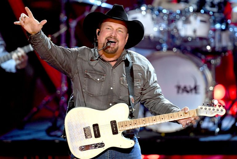 Garth Brooks; Photo by Kevin Winter/Getty Images for iHeartMedia