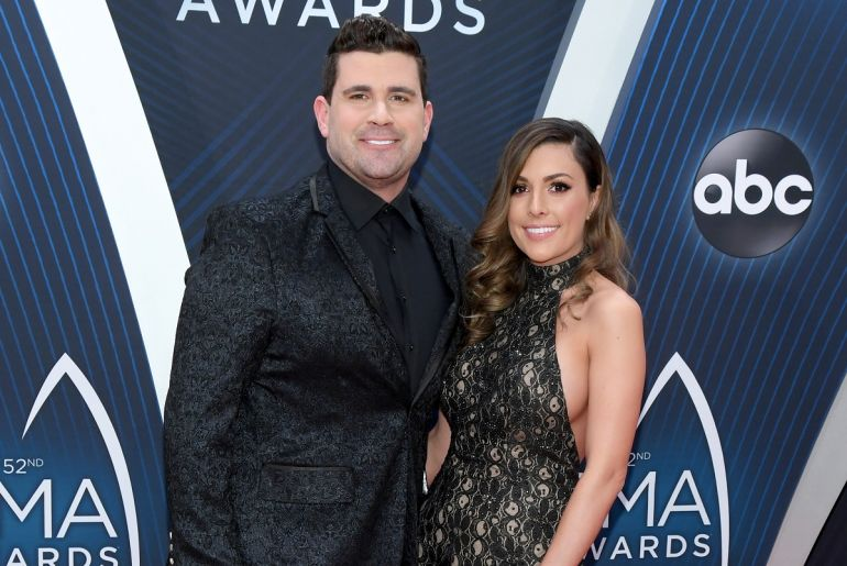 Josh Gracin and Katie Weir; Photo by Jason Kempin/Getty Images