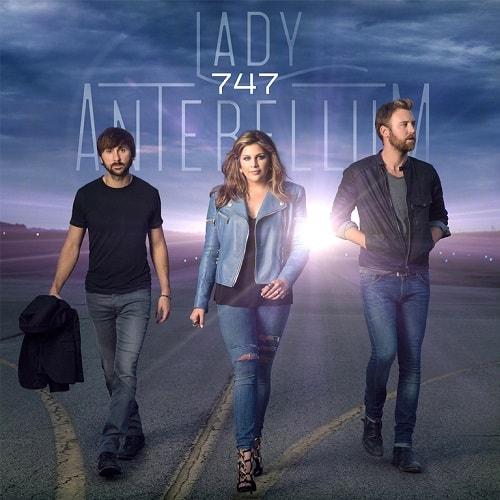 Lady Antebellum - 747; Image Courtesy Capitol Records Nashville