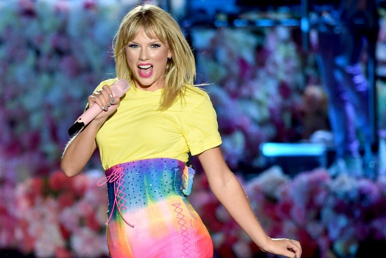 Taylor Swift; Photo by Kevin Winter/Getty Images for iHeartMedia
