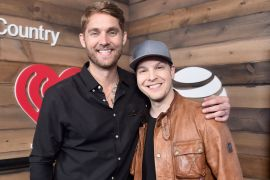 Brett Young, Gavin DeGraw; Photo by Frazer Harrison/Getty Images for iHeartMedia