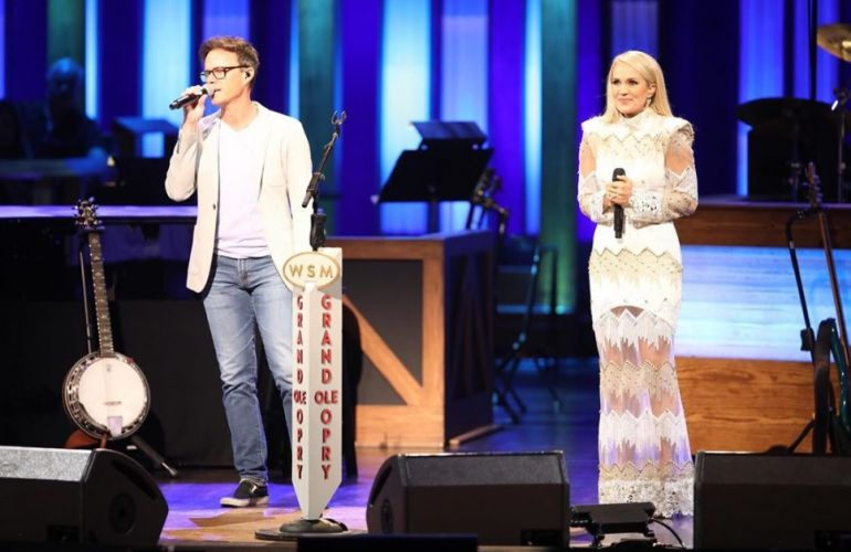 Bryan White, Carrie Underwood; Photo via Instagram