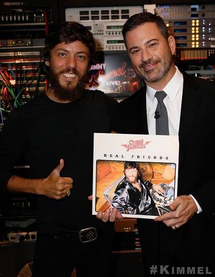 Chris Janson and Jimmy Kimmel; Photo Courtesy 'Jimmy Kimmel Live!'
