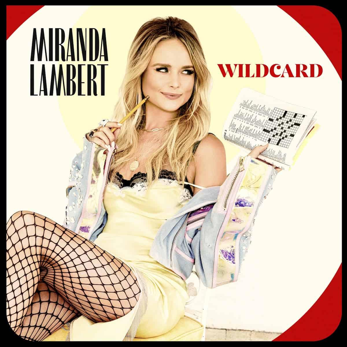 Miranda Lambert - 'Wildcard'; Photo by Ellen von Unwerth
