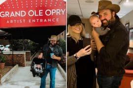 Randy Houser and Family; Photos via Instagram