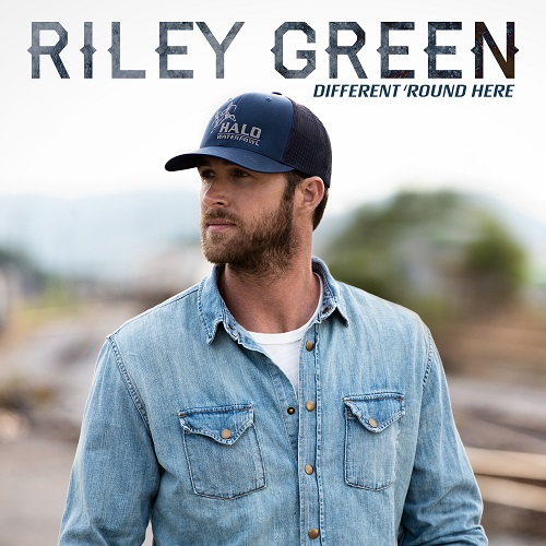Riley Green - Different 'Round Here; Cover Art Courtesy of BMLG Records