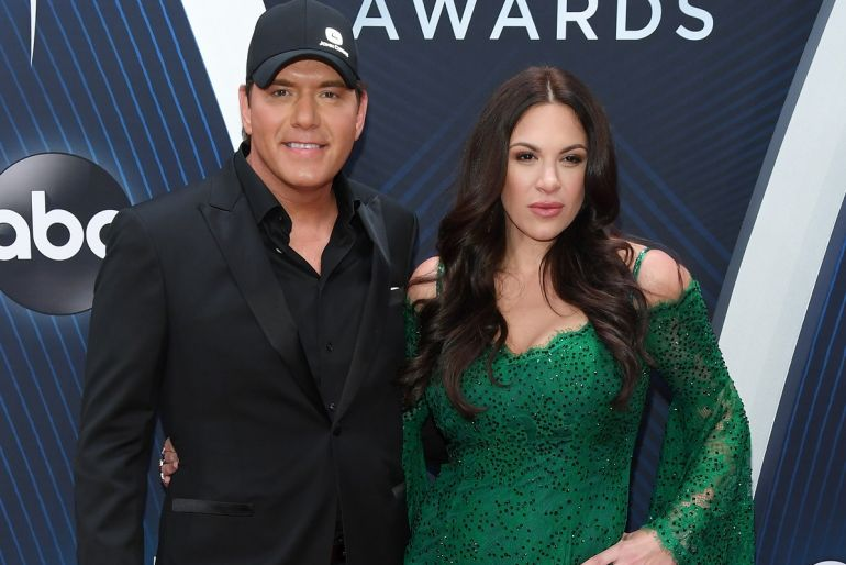Rodney Atkins and Rose Falcon; Photo by Jason Kempin/Getty Images