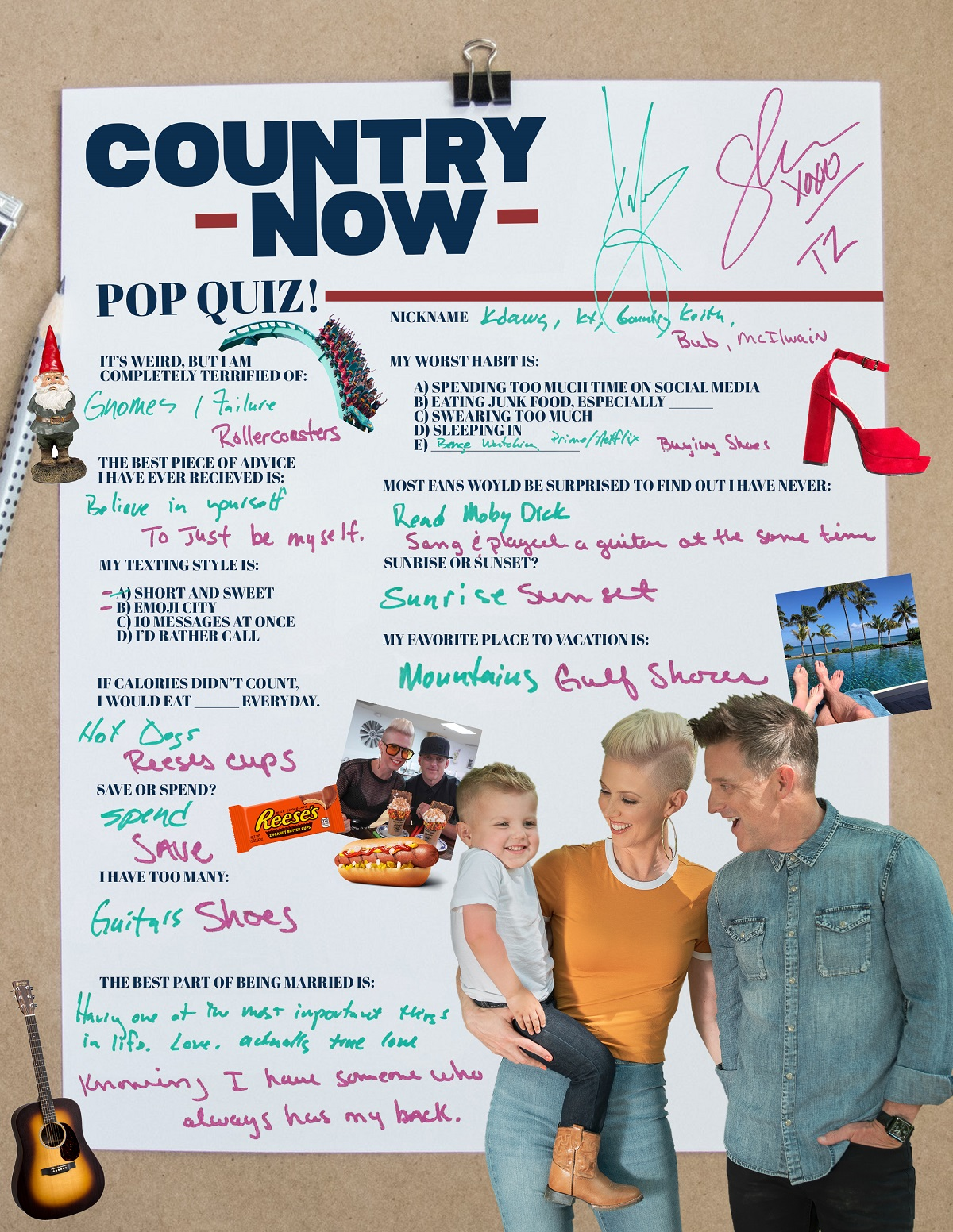 Thompson Square; Country Now Pop Quiz