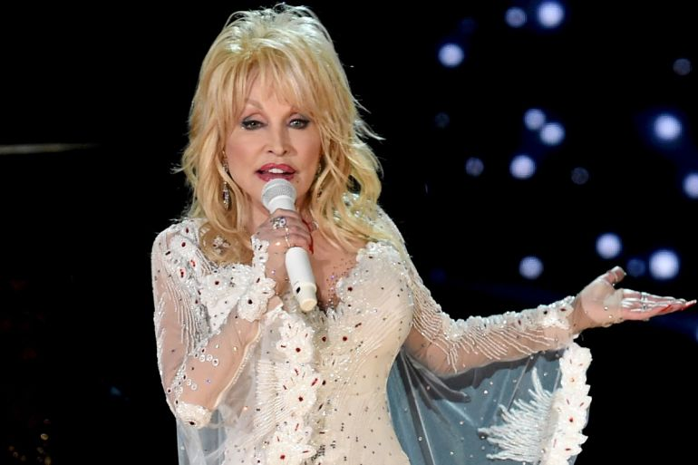 Dolly Parton; Photo by Kevin Winter/Getty Images for The Recording Academy