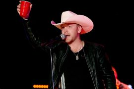 Justin Moore; Photo by Rick Diamond/Getty Images