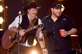 Kix Brooks, Luke Combs; Photo by Kevin Winter/Getty Images