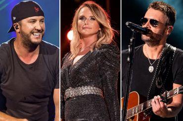 Luke Bryan, Miranda Lambert, Eric Church; Photos by Andrew Wendowski