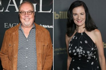 Mike Dungan, Leslie Fram; Photos by Terry Wyatt/Getty Images