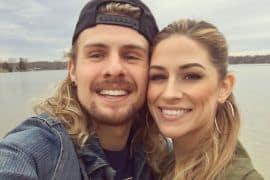Rachel Reinert, Caleb Crosby; Photo via Instagram