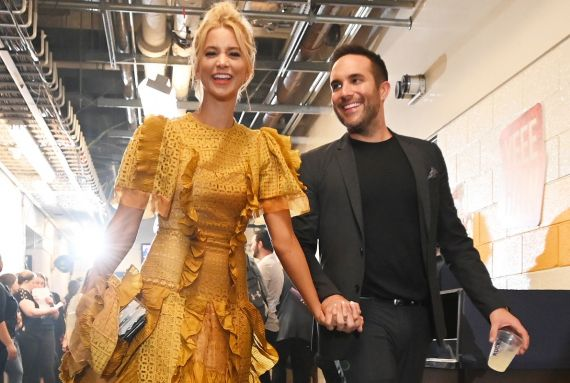 Tyler Rich and Sabina Gadecki; Photo by Jason Kempin/Getty Images for CMT