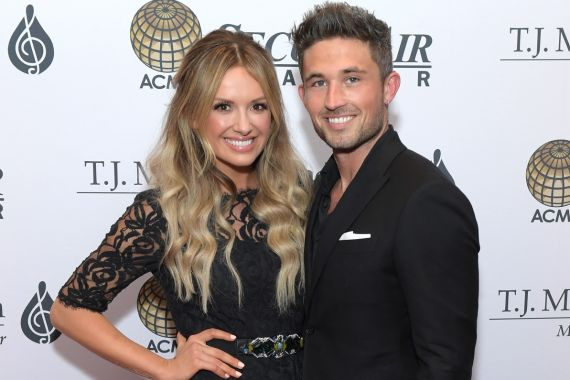 Carly Pearce and Michael Ray; Photo by Jason Kempin/Getty Images