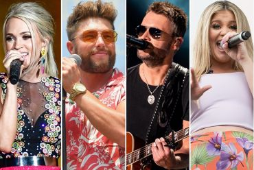 Carrie Underwood;Photo by Erika Goldring/Getty Images for CMT, Chris Lane;Photo by Erika Goldring/Getty Images, Eric Church; Photo by Andrew Wendowski, Lauren Alaina; Photo by Danielle Del Valle/Getty Images